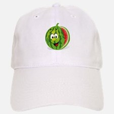 Cute Smiling Cartoon Watermelon Baseball Baseball Cap