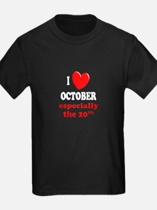October 20th T