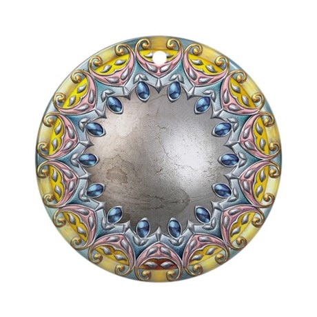Fantasy Shield 01 Ornament (Round)