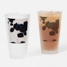 SPOTTED COW HIDE Drinking Glass