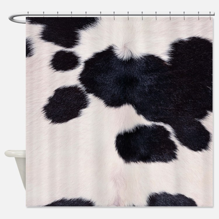 Cow Shower Curtains | Cow Fabric Shower Curtain Liner