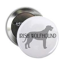 """Irish Wolfhound w/ Text #3 2.25"""" Button (10 pack)"""