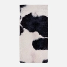 SPOTTED COW HIDE Beach Towel
