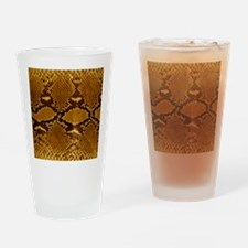 SNAKE SKIN Drinking Glass
