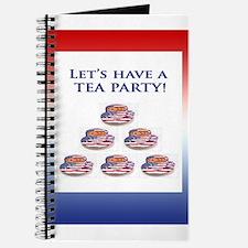 Let's Have a TEA PARTY Journal