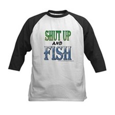 Shut Up and Fish Tee