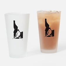 Ski Idaho Drinking Glass