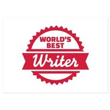 World's Best Writer Invitations