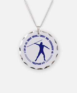 JAVELIN - Phil. 4:13 Necklace