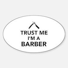 Trust me I'm a Barber Decal