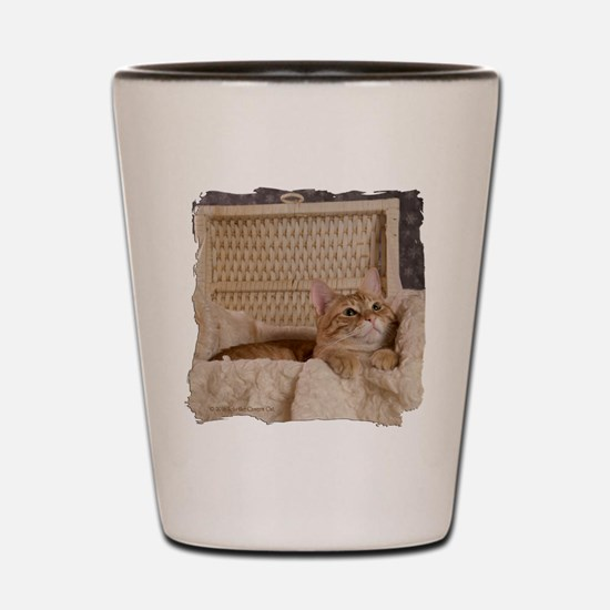 Loki In Basket 2 Shot Glass