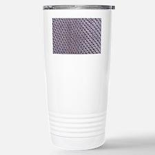 SILVER SNAKE SKIN Travel Mug