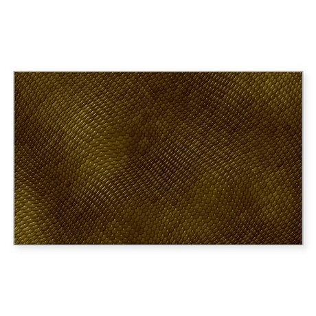 REPTILE SKIN Sticker (Rectangle)