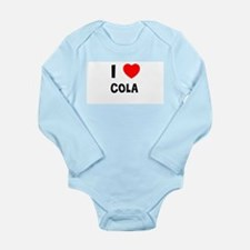 Cool Cola Long Sleeve Infant Bodysuit