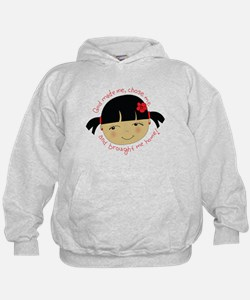 Cool China adoption Hoodie