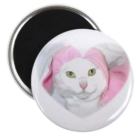 """The Easter Kitty 2.25"""" Magnet (10 pack)"""