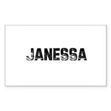 Janessa Rectangle Decal