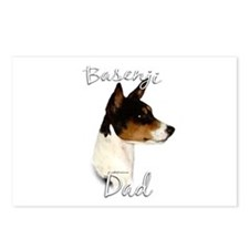 Basenji Dad2 Postcards (Package of 8)