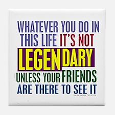 Barney's Legendary Quote Tile Coaster