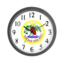 USS San Jose (AFS 7) Wall Clock