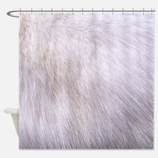RABBIT FUR Shower Curtain