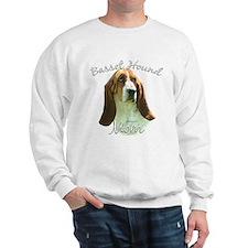 Basset Mom2 Sweatshirt