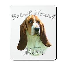 Basset Mom2 Mousepad