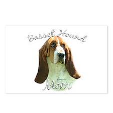 Basset Mom2 Postcards (Package of 8)