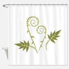 Fern Swirls Shower Curtain
