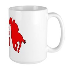 Long shot. Horse racing. Mug