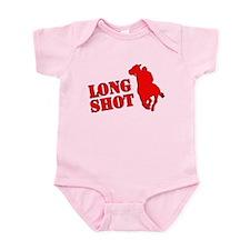 Long shot. Horse racing. Infant Bodysuit