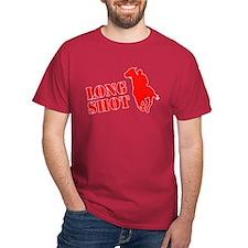 Long shot. Horse racing. T-Shirt
