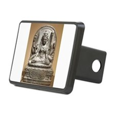 Meditating Female Diety Warrior Hitch Cover