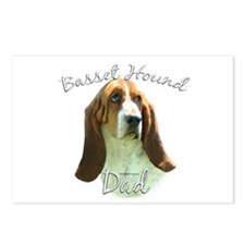 Basset Dad2 Postcards (Package of 8)