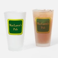 MacLaren's Pub Drinking Glass