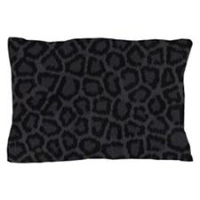 BLACK LEOPARD PRINT Pillow Case