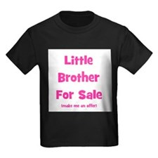 Cute Big brother kids older baby T