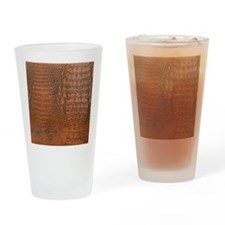 ALLIGATOR SKIN Drinking Glass