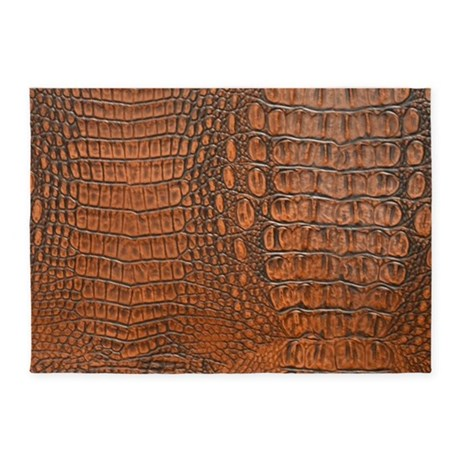 ALLIGATOR SKIN 5u0027x7u0027Area Rug