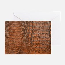 ALLIGATOR SKIN Greeting Cards (Pk of 10)