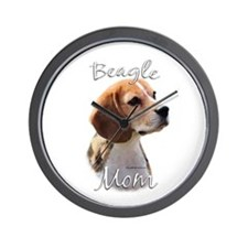Beagle Mom2 Wall Clock