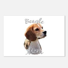 Beagle Mom2 Postcards (Package of 8)