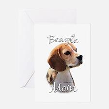 Beagle Mom2 Greeting Card