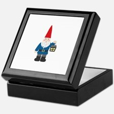 Gnome & Lantern Keepsake Box