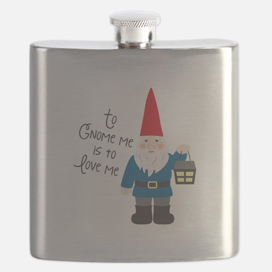 To Gnome Me Flask