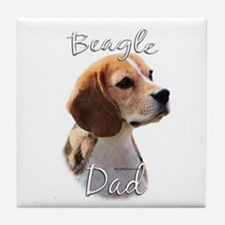 Beagle Dad2 Tile Coaster