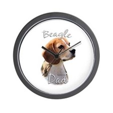Beagle Dad2 Wall Clock
