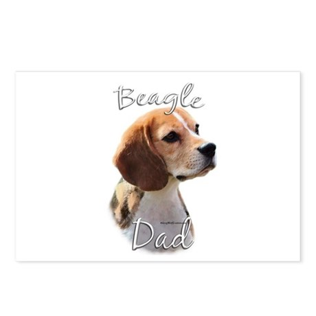 Beagle Dad2 Postcards (Package of 8)