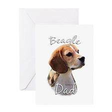 Beagle Dad2 Greeting Card