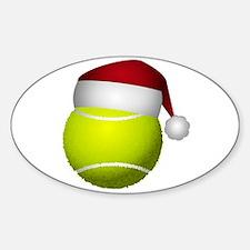 Christmas Tennis Decal